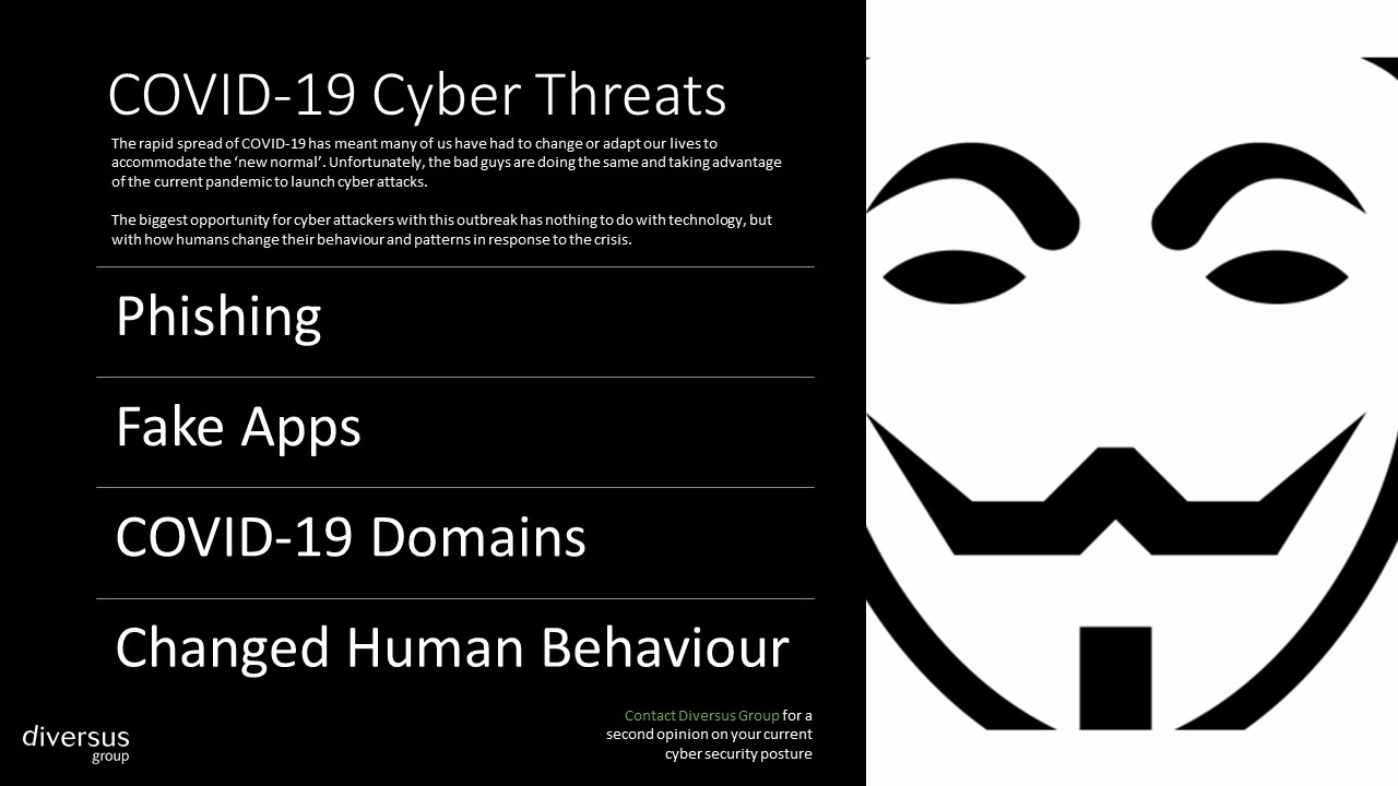 COVID-19 Cyber Security Threats - Diversus Group